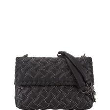 Olympia Micro-Stud Shoulder Bag