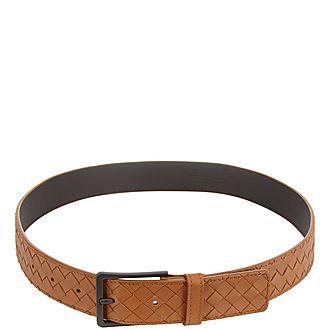 Classic Intrecciato Belt