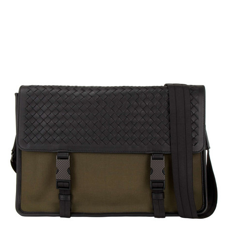 Canvas Messenger Bag, ${color}