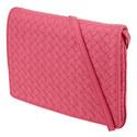 Intrecciato Flap Small Crossbody Bag, ${color}
