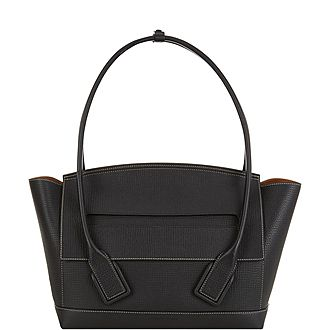 Arco Grained Leather Tote