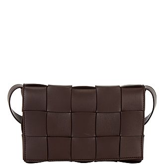 Maxi Intrecciato Crossbody Bag