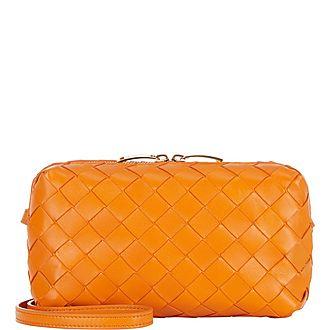 Intrecciato Mini Crossbody Bag