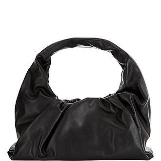 Nappa Shoulder Pouch Bag