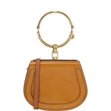Nile Horse Embossed Bracelet Bag Small