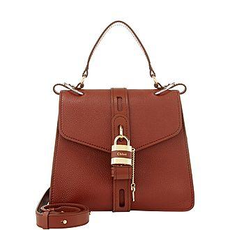 Aby Small Shoulder Padlock Bag