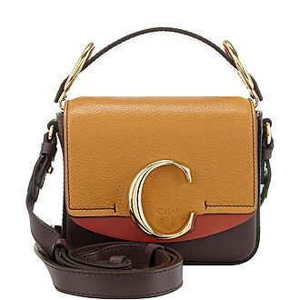 Colour Block C Mini Crossbody Bag