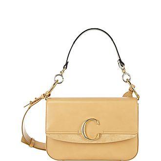 C Large Shoulder Bag
