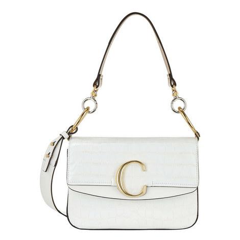 C Double Small Carry Croc Bag, ${color}
