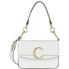C Double Small Carry Croc Bag
