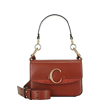 C Double Carry Shoulder Bag