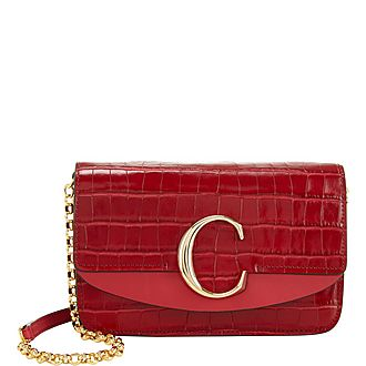 C Crocodile Clutch