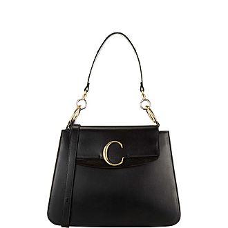 C Medium Shoulder Bag