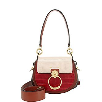 Tess Croc Small Satchel