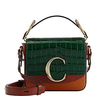 C Croc Small Crossbody Bag