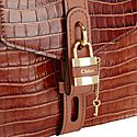 Aby Small Crocodile Embossed Shoulder Bag, ${color}