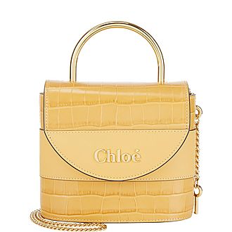 Aby Small Lock Handbag