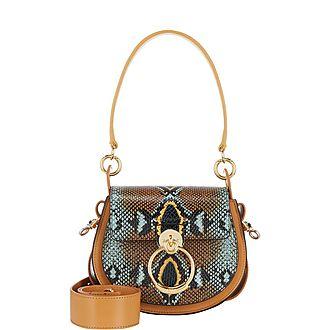 Tess Python Small Crossbody Bag