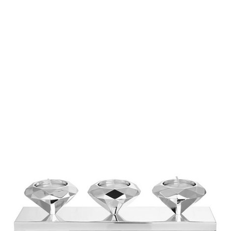 Faceted Diamond Tealight Holder, ${color}