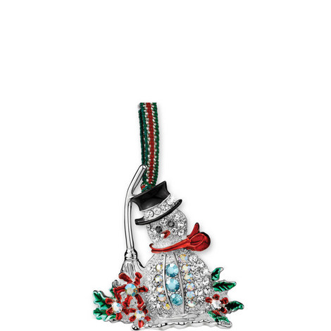 Snowman Crystal Hanging Decoration, ${color}