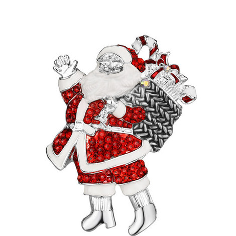Santa with Sack Hanging Decoration, ${color}
