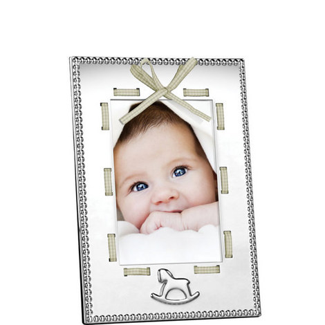 Ribbon Baby Frame 4x6, ${color}
