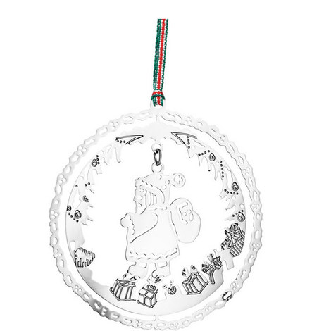 Santa with Presents Hanging Decoration, ${color}