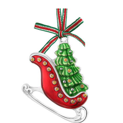 Sleigh with Christmas Tree Decoration, ${color}