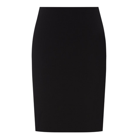 Tailored Pencil Skirt, ${color}