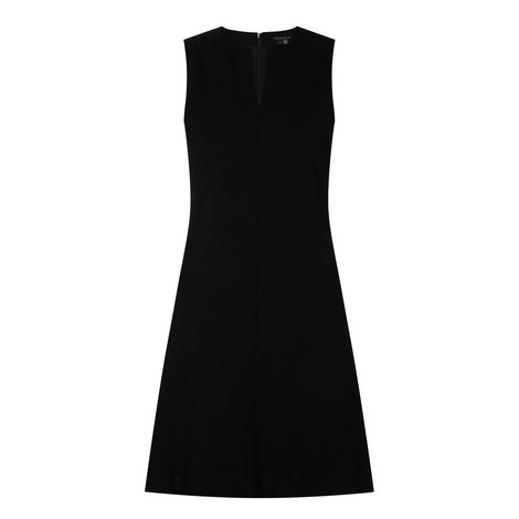 Fit and Flare Dress, ${color}