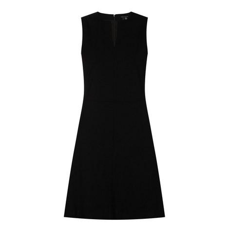Sleeveless Shift Dress, ${color}