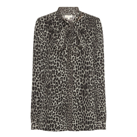 Animal Print Blouse, ${color}