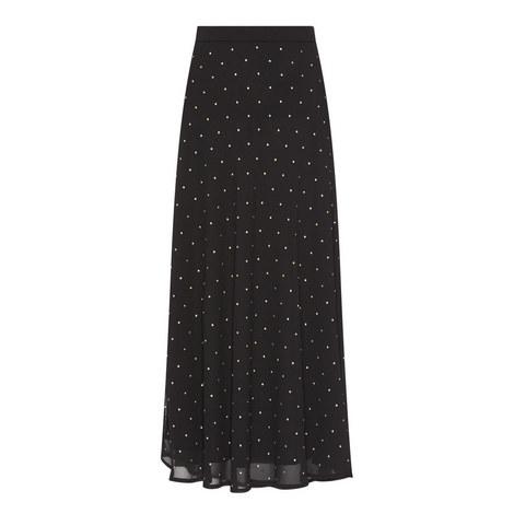 Studded Midi Skirt, ${color}