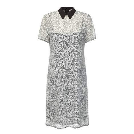 Collared Lace Dress, ${color}