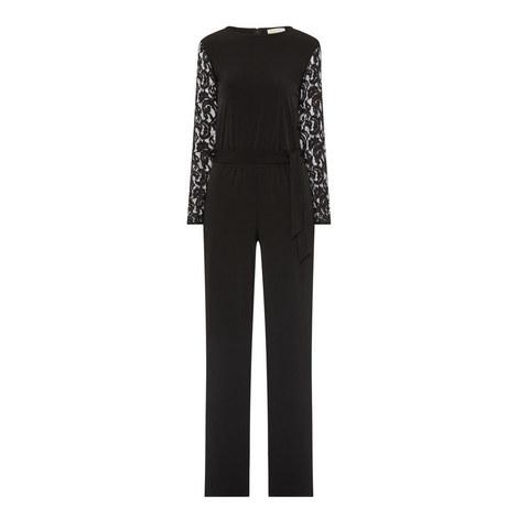 Lace Sleeve Jumpsuit, ${color}