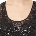 Sleeveless Sequinned Dress, ${color}