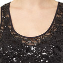 Sleeveless Sequinned Dress, ${color}