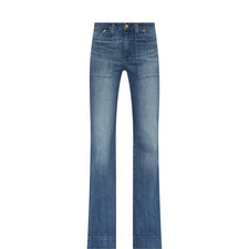 Flared High Rise Jeans