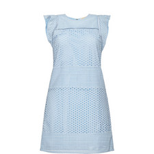 Frill Sleeve Lace Dress