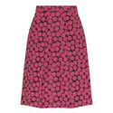 Jacquard A-Line Skirt, ${color}