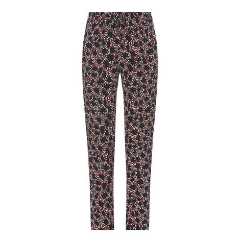 D3 Hayden Floral Print Trousers, ${color}
