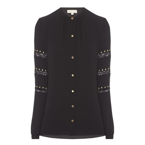D3 Studded Detail Shirt, ${color}