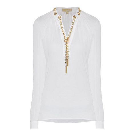 D3 Chain Neck Top, ${color}