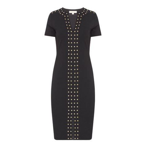D3 Studded Detail Dress, ${color}