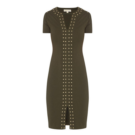 D2 Studded Detail Dress , ${color}