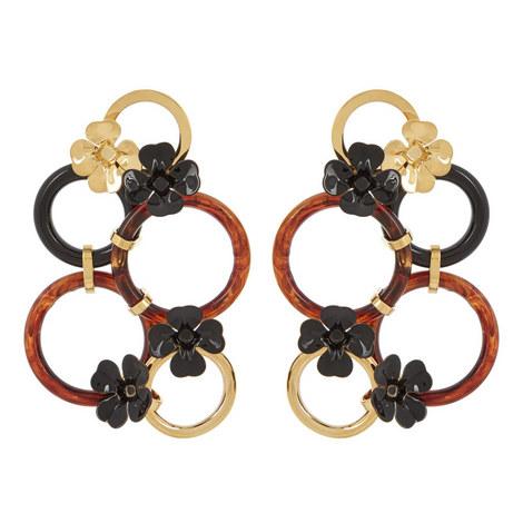 Large Flower Earrings, ${color}