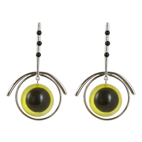 Ball Drop Earrings, ${color}