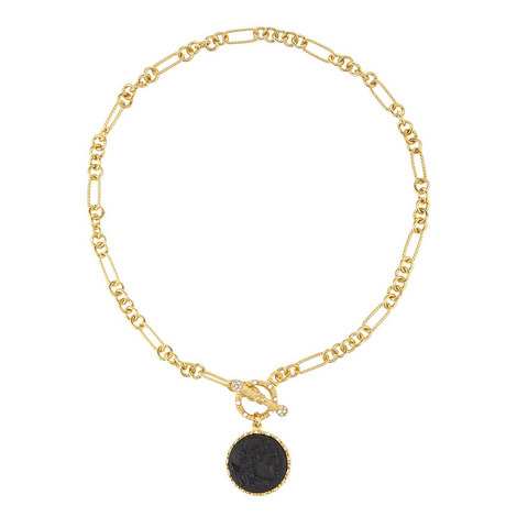 Coin Toggle Necklace, ${color}