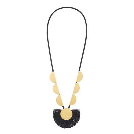 Long Tassel Necklace, ${color}
