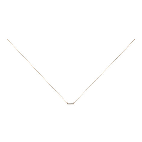Pavé Bar Necklace, ${color}